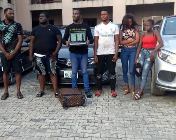 EFCC arrests Yahoo boys in Port Harcourt, lists recoveries