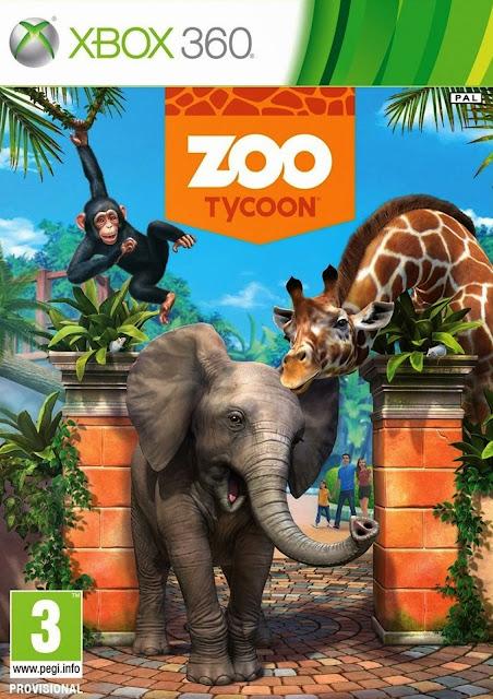 Zoo Tycoon - Xbox 360 - Multi5 - Portada