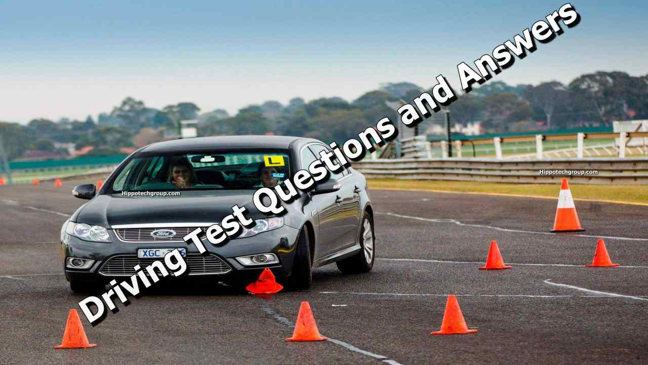 Driving Test Questions and Answers in Cameroon