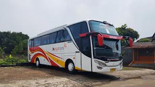 Sewa Bus Pariwisata SHD Mega Trans 2019