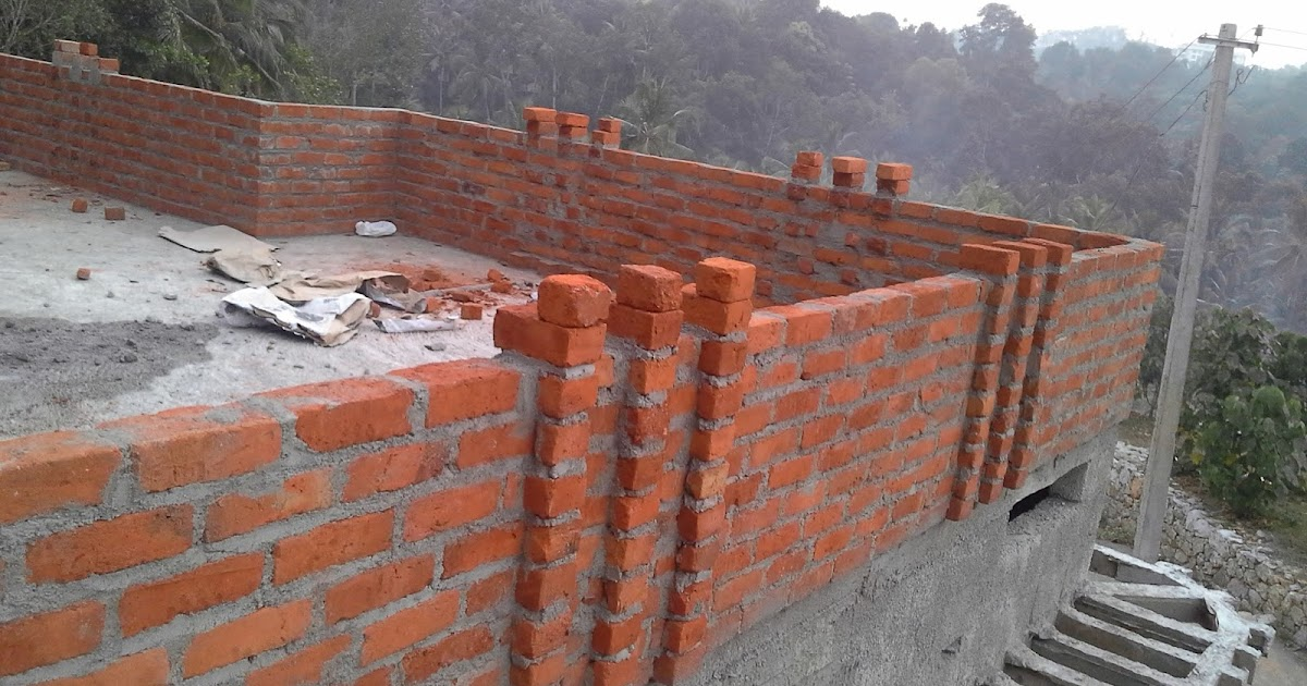 Kerala house construction tips 11 parapet and plastering for Construction tips