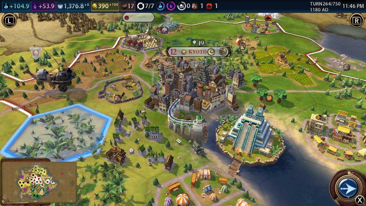 Review: Sid Meier's Civilization VI (Nintendo Switch