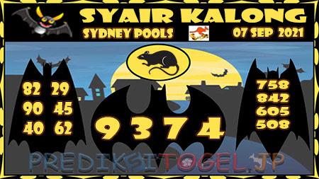 Prediksi Togel Kalong Sidney Selasa 07 September 2021