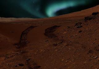 Ditemukan Aurora di Planet Mars