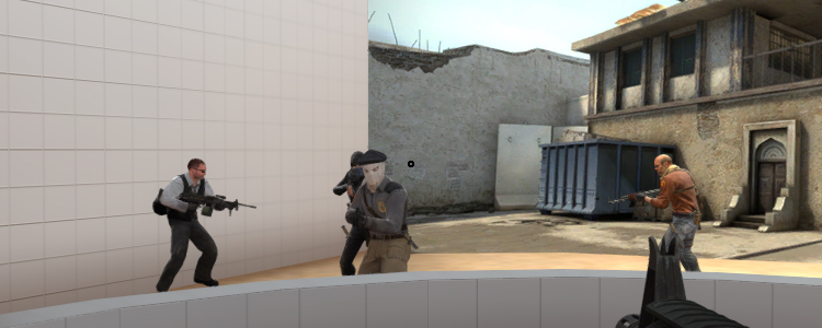 How to make a dot sight in CS:GO