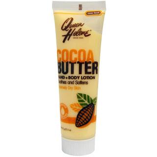 لوشن اليدين والجسم بزبدة الكاكاو Queen Helene, Hand + Body Lotion, Cocoa Butter, 2 oz (57 g)