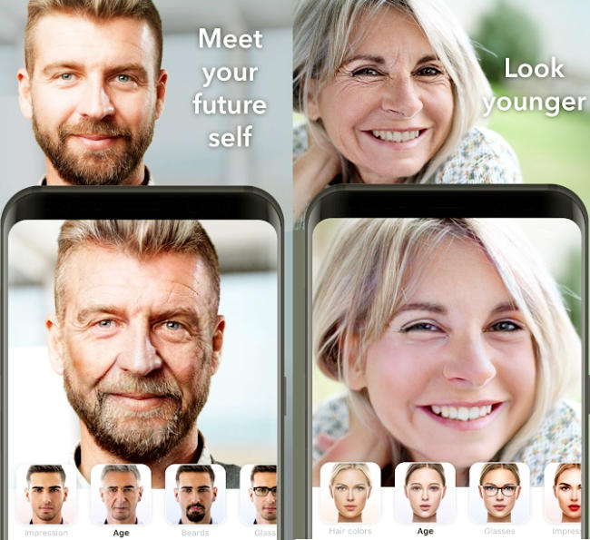 FaceApp Mobile App : AI Face Editor