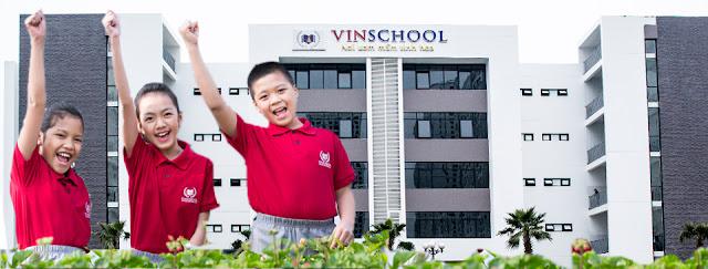 Tiện ích trường học cao cấp Vinschool tại Vinhomes D'Capitlae