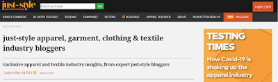 Top Listed Textile Blogs and Websites on the Web | Just-Style