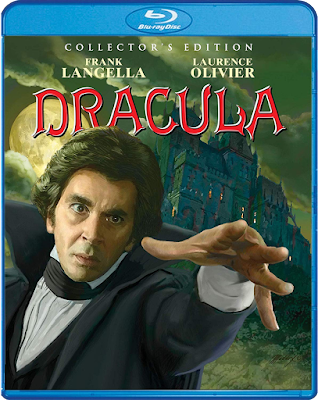 Mark Maddox' beautiful cover art for Scream Factory's Collector's Edition of DRACULA (1979)!