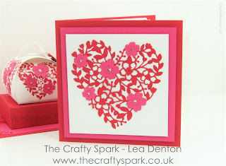 bloomin heart thinlets die stampin up uk