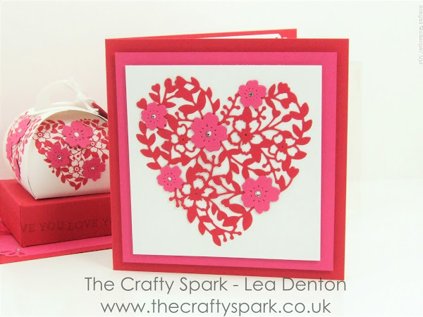 Valentine Bloomin' Heart Card