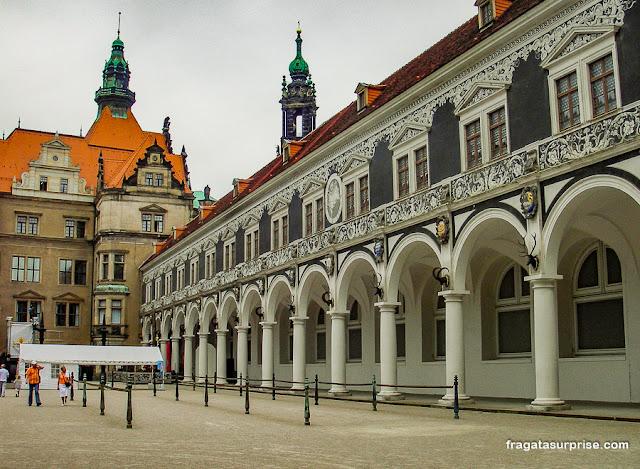liça do castelo de Dresden