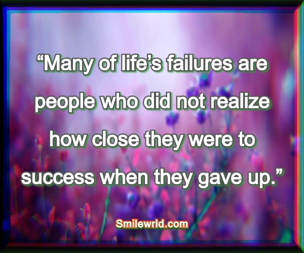 Quotes about Failures Life