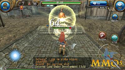 game mmorpg offline dan online android