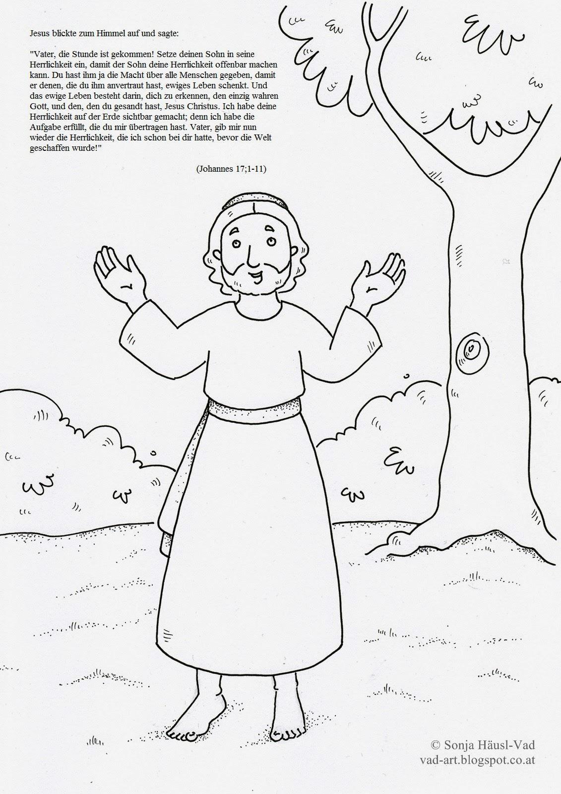 biblische bilder zum ausmalen