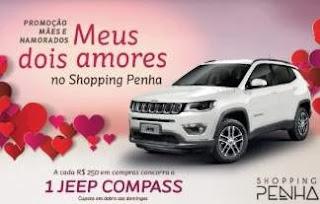 Promoção Penha Shopping Dia dos Namorados 2019 - Concorra Jeep Compass