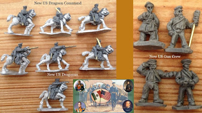 US Gun Crew & New Dragoons with Command