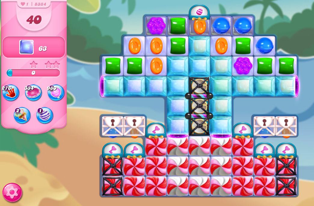 Candy Crush Saga level 8384