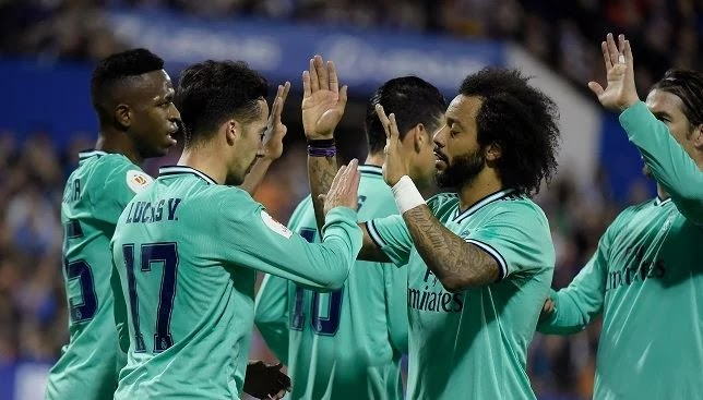 Real Madrid's crushing victory over Zaragoza in the Copa del Rey