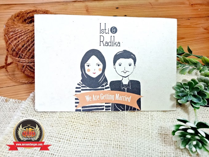 Contoh Undangan Pernikahan Simple tapi Tetap Terkesan Mahal
