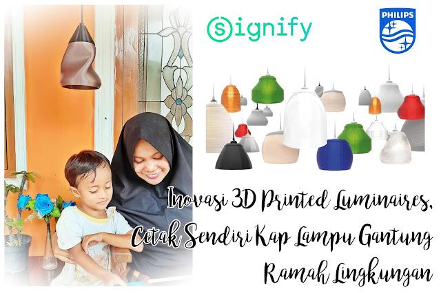 Inovasi 3D Printed Luminaires