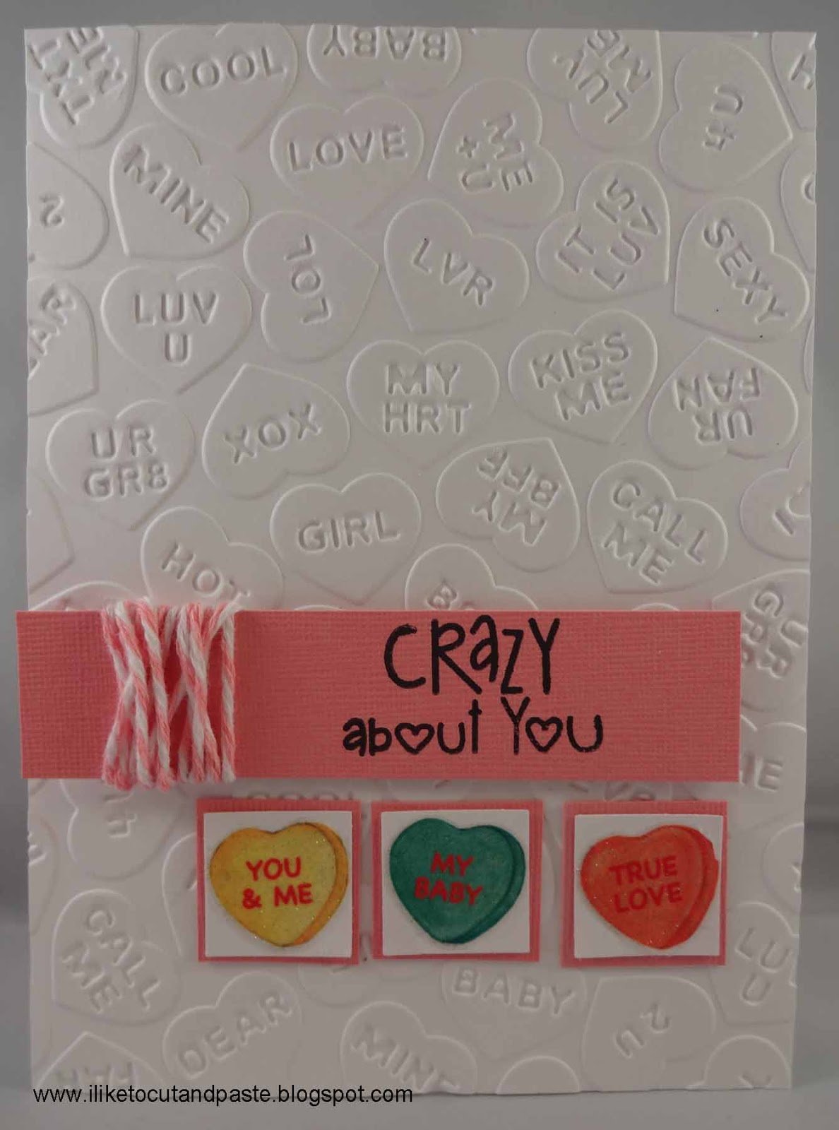 I Like To Cut And Paste A Valentine S Day Card