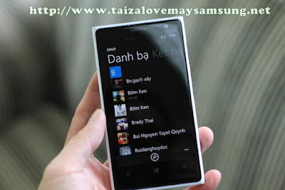 zalo windows phone, download zalo cho windows phone free.