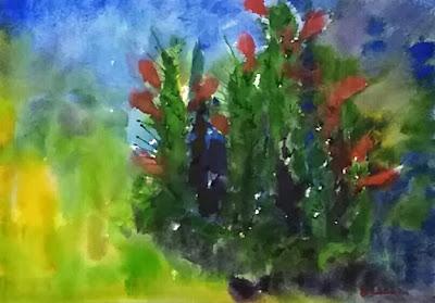 Watercolor - Cacti - JKeese