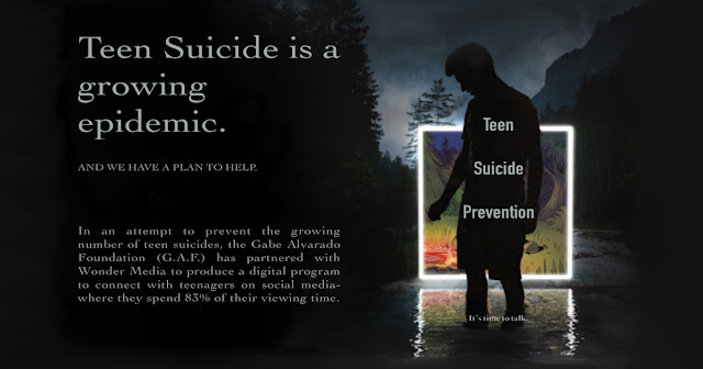 The Prevent Teen Suicide pilots were developed by Wonder Media for the Gabe Alvarado Foundation with national suicide experts Dr. James Mazza and Dr. Jennifer Stuber.
