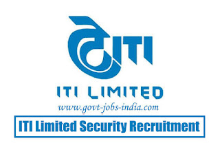 How To Apply ITI Limited Security Guard Vacancy 2020