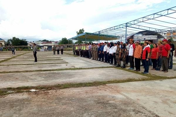 Sekitar 400-an Personel Disiagakan Amankan Gawai Dayak VIII 2017 Kabupaten Sekadau