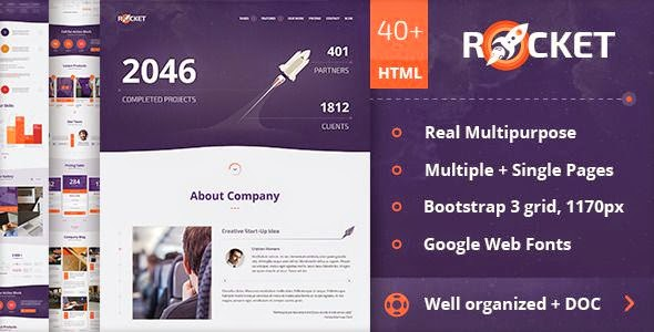 Best Creative Multipurpose HTML Template