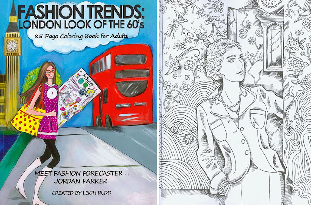 Fashion Trend Coloring Book