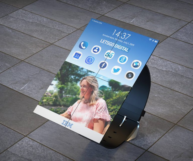 IBM files a patent for a smartwatch that can unfold into a tablet