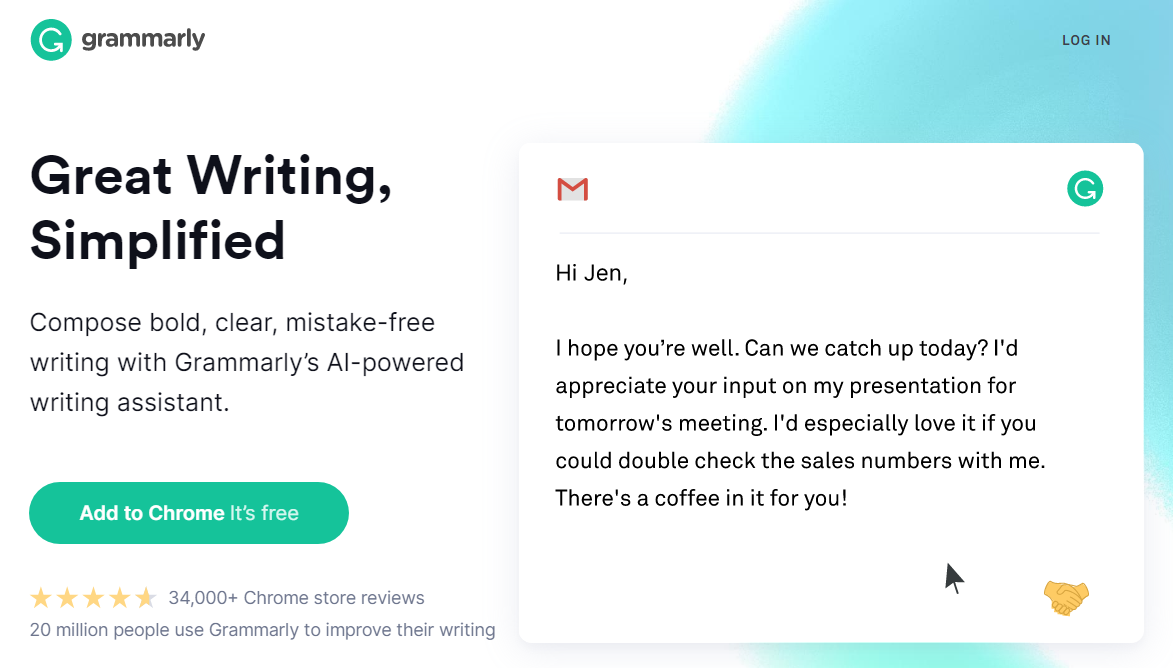 The Grammarly Tool