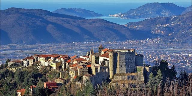 Malaspina Castle & Fosdinovo Tuscany near Cinque Terre