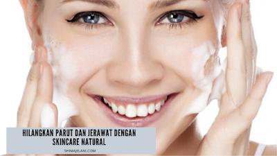 Hilangkan Parut Dan Jerawat Skincare Natural