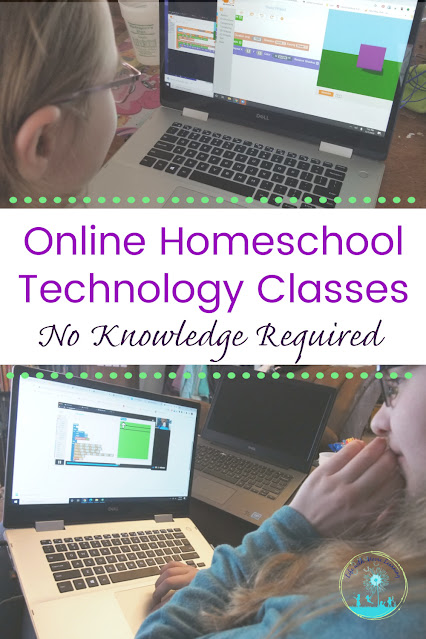 Online Technology Education for Your Homeschool