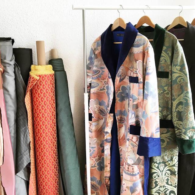 baturina homewear hamburg dressing gowns mens smoking jackets loungewear robes
