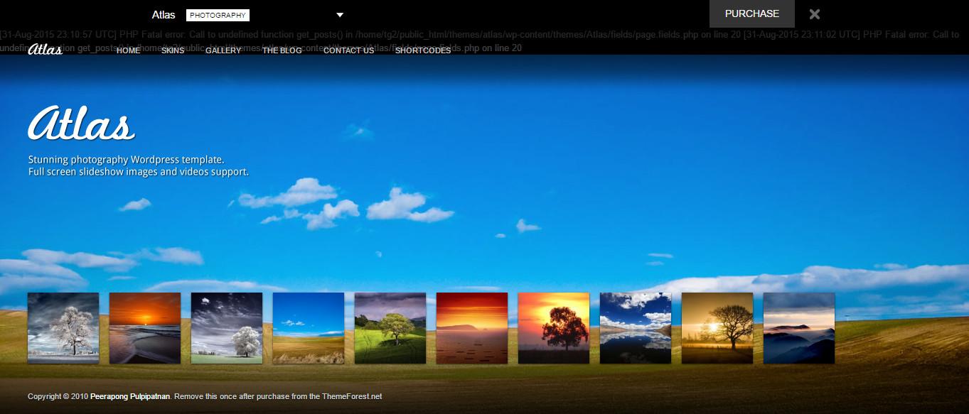 Atlas-photography-themes