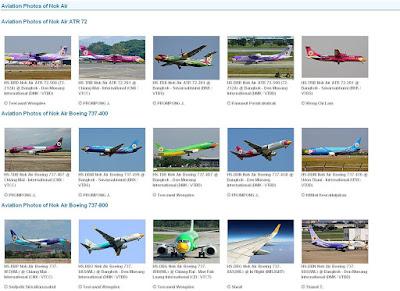 Nok Air, samoloty