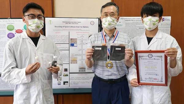 2021韓國WiC世界創新發明大賽 大葉大學勇奪2金1銀