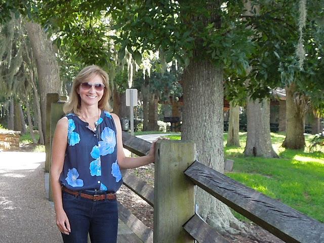 Susan in park