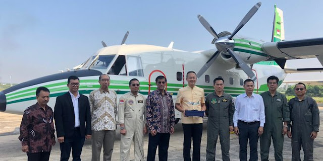 Keren! Pesawat Buatan Indonesia Kembali Mengudara di Thailand