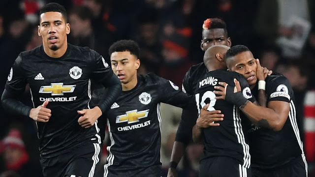 Man Utd are eight points behind City after 15 Premier League games