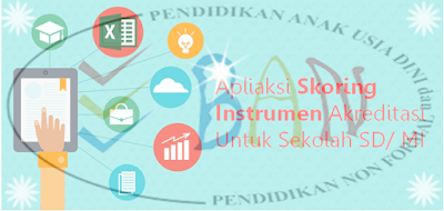 Apliaksi Skoring Instrumen Akreditasi Untuk Sekolah SD/ MI