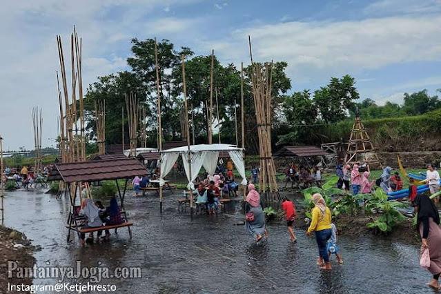 Menikmati Menu Makan Sambil Keceh Di Ketjeh Resto Polanharjo Klaten Jawa Tengah