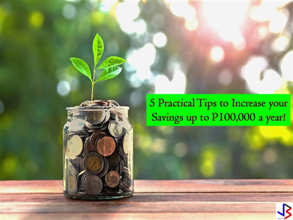 Saving money is a challenge especially if you are living from paycheck to paycheck! With the increasing prices of basic goods and services, saving money becomes a less priority nowadays. Some of us even look for a part-time or extra job to make ends meet.
