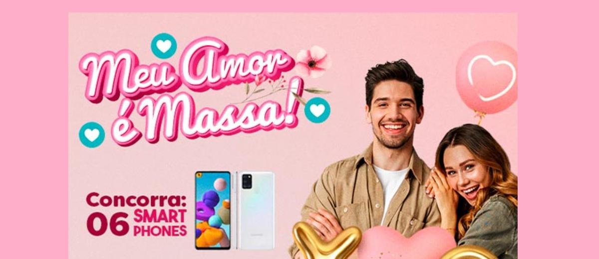 Promoção Dia dos Namorados 2021 Massa FM 6 Celulares